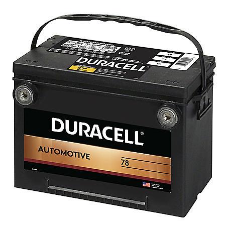 Duracell Automotive Battery - Group Size 78