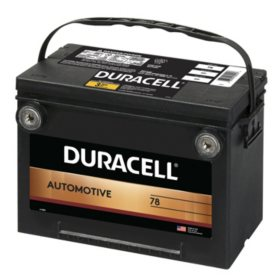 Duracell Automotive Battery - Group Size 78