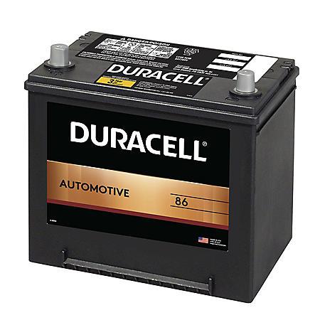 Duracell Automotive Battery - Group Size 86