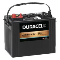 Duracell Marine Dual Purpose Battery, Group size 24