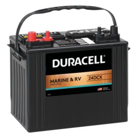 Duracell Marine Deep Cycle Battery, Group size 24
