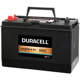 Duracell Marine Deep Cycle Battery, Group size 31