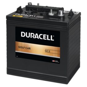 Duracell Golf Car Battery, Group Size GC2