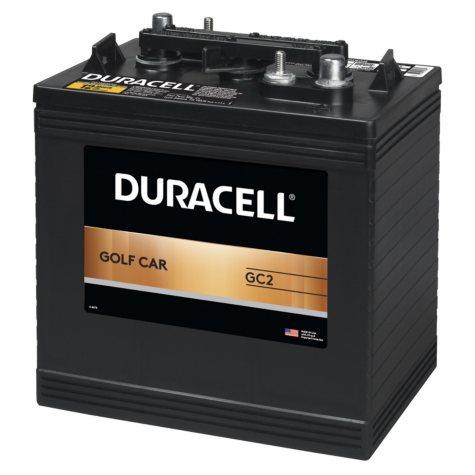 Duracell Golf Car Battery - Group Size GC2
