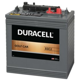 Duracell Golf Car Battery, Group Size EGC2