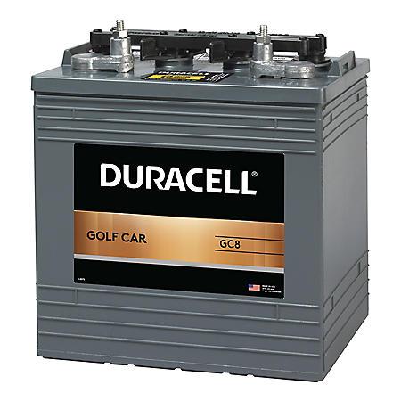 Duracell Golf Car Battery, Group Size GC8