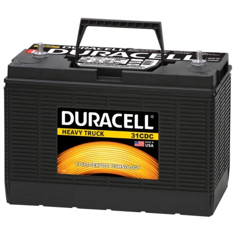 Duracell Heavy Duty Truck Battery - Group Size 31CDC