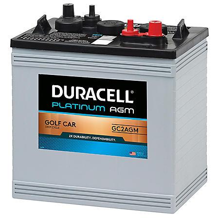 Duracell AGM Golf Car Battery - Group Size GC2 - Sam's Club