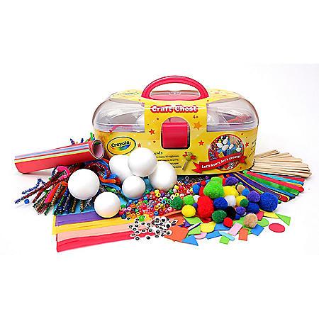 Crayola Craft Chest 171-Piece Kit