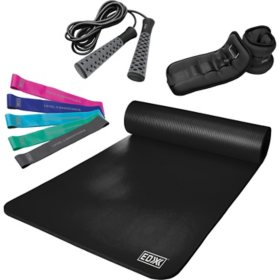EDX 9-Piece Full Body Workout Kit