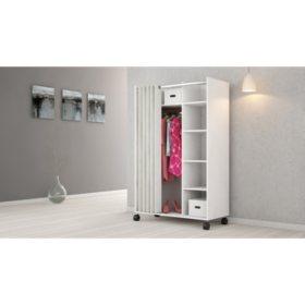 Tvilum Mobile Wardrobe Storage Cabinet