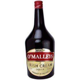 O'Malleys Irish Cream Liqueur (1.75 L)