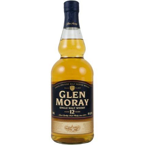 Glen Moray 12 Year Old Single Malt Scotch Whisky (750ML)