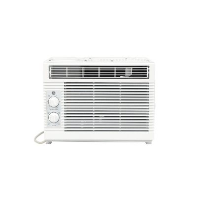 White AHT GE 5000 BTU 115-Volt Mechanical Room Air Conditioner for Small Rooms