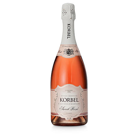 Korbel Sweet Rose California Champagne (750 ml)