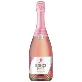 Barefoot Bubbly Pink Moscato Champagne (750ML)