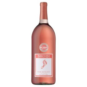 Barefoot Pink Moscato Wine (1.5L)