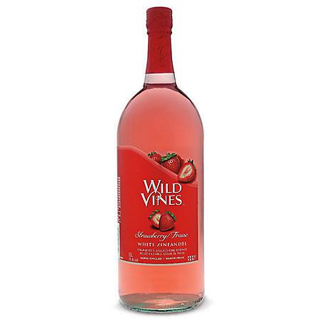 Wild Vines Strawberry White Zinfandel (1.5L)