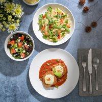 Gibson Home Next Generation 12-Piece Double Bowl Dinnerware Set