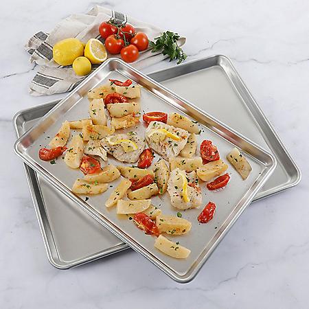 Martha Stewart 2-Piece Aluminum Cookie Sheet Set