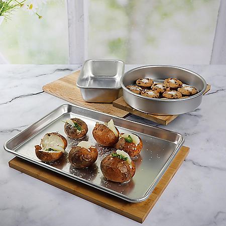 Martha Stewart 3-Piece Aluminum Baking Set