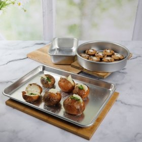 Martha Stewart 3-Piece Aluminum Baking Set