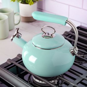Martha Stewart 1.5-Quart Martha Blue Tea Kettle