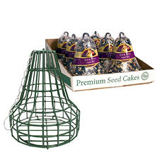 Nut & Berry Seed Bell 6-Pack with Bell Cage