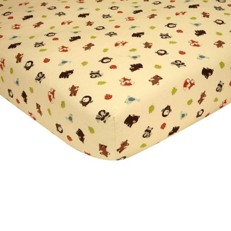 Carter's Fitted Crib Sheet, Friends