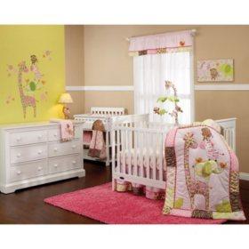 Carter's Crib 4-Piece Bedding Set, Jungle