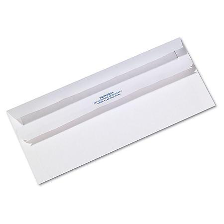 Quality Park -Redi-Seal Envelope, Contemporary, #10, White, 500 per Box