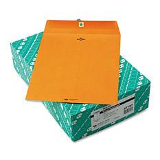 """Quality Park Clasp Envelopes - 10"""" x 13"""" - 32 lb. - Light Brown - 100 Pack"""