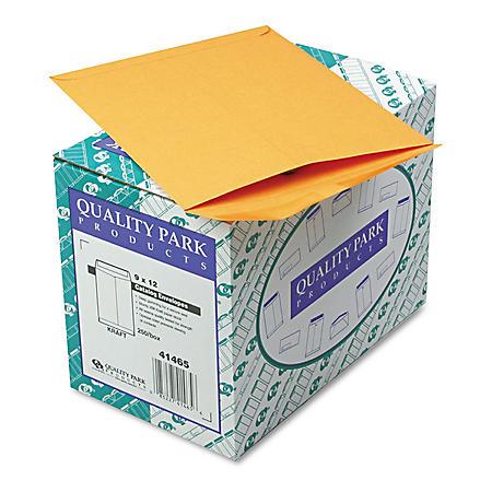 Quality Park - Catalog Envelope, 9 x 12, Brown Kraft - 250/Box