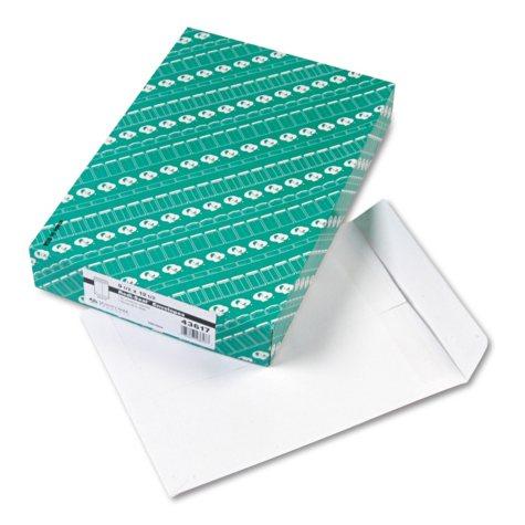 "Quality Park Redi-Seal Catalog Envelopes - 9 1/2"" x 12 1/2"" - White - 100 ct."