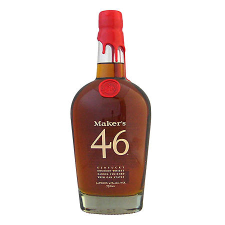 Maker's Mark 46 Bourbon Whisky (750 ml)