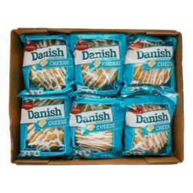 Cloverhill Cheese Danish (4 oz. each, 12 ct.)
