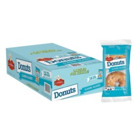 Cloverhill Bakery Classic Glazed Donuts (3.5oz / 12pk)