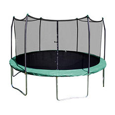 Skywalker Trampolines 12' Round Trampoline and Enclosure - Green