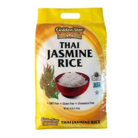 Golden Star Thai Jasmine Rice (25 lb.)