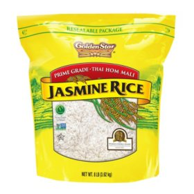 Golden Star Thai Jasmine Rice (8 lb.)