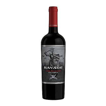 Ravage Red Blend Wine (750 ml)