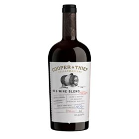 Cooper and Thief Bourbon Barrel Aged Red Blend Red Wine (750 ml)