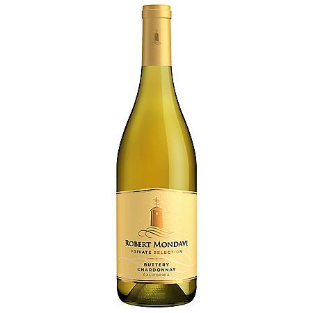 Robert Mondavi Private Selection Buttery Chardonnay White Wine (750 ml)