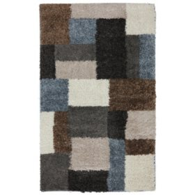 Franklin Grey Black Rug