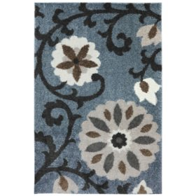 American Rug Craftsman Augusta Collection - Hazelhurst Abyss Blue