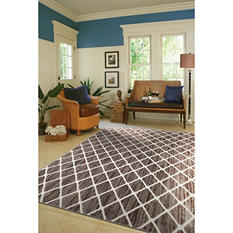 Refinements Area Rug, Trellis (8' x 10')