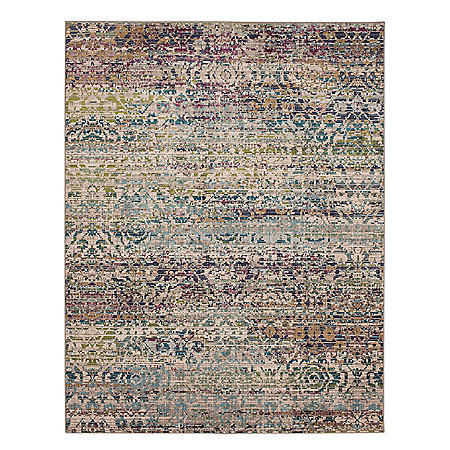 Mohawk Karastan Taos Collection 8 x 10 Area Rug, Assorted Colors