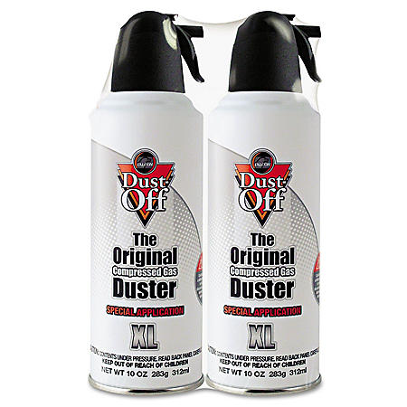 Dust-Off - Special Application Duster, 10 oz Cans -  2/Pack