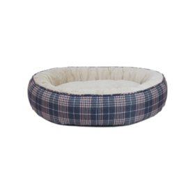 Canine Creations Luxury Dunkin Cuddler Memory Foam Pet Bed, 42x31 (Choose Your Color)