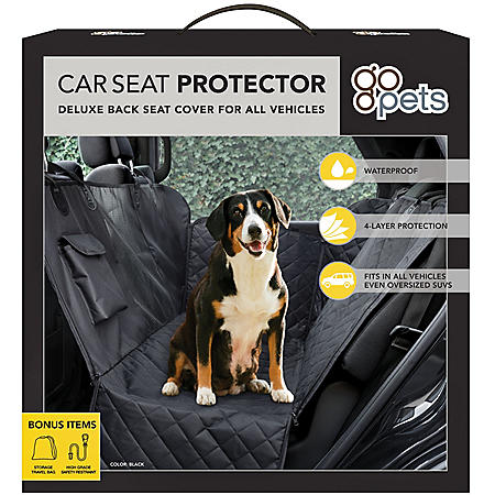 "Go Pets! Deluxe Car Seat Cover (58"" x 54"")"